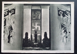 Deutsches Reich 1942, Postkarte Büste Adolf Hitler, Sonderstempel WIEN - Brieven En Documenten