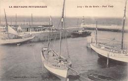 ILE DE GROIX - Port Tudy - Très Bon état - Other Municipalities