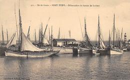 ILE DE GROIX - PORT TUDY - Débarcadère Du Bateau De Lorient - Très Bon état - Other Municipalities