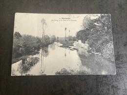 Carte Postale  Montargis Le Loing Vu Du Pont - Montargis