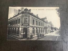 Carte Postale  Montargis Le Bureau De Poste - Montargis