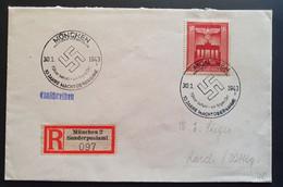 Deutsches Reich 1943, Reko Brief Sonderstempel MÜNCHEN - Brieven En Documenten