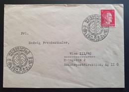 Deutsches Reich 1942, Brief Sonderstempel WEISSENFELS - Brieven En Documenten