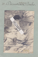 VALLORBE - LE MONT D'OR - Rare Photo Originale De 1912 Des Travaux Du Tunnel - 3° Dérivation Souterraine Du Doubs. - Luoghi