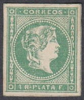Philippines, Scott #20, Mint Hinged, Isabella II, Issued 1863 - Filippine