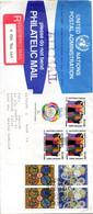 ONU New-York. Superbe Enveloppe Ayant Circulé En 1983. - Briefe U. Dokumente