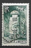 FRANCE    -   1947 .  Y&T N° 788 Oblitéré.   Voie De La Liberté - Usati