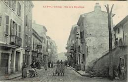 07*Ardèche* - Le Teil - Rue De La République - Le Teil