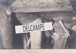VALLORBE - LE MONT D'OR - Rare Photo Originale De 1913 Des Travaux Du Tunnel - Dérivation Souterraine - Etat Du Boisage - Luoghi