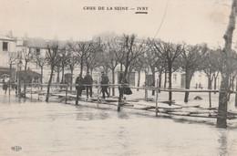Crue De La Seine - Ivry - - Ivry Sur Seine