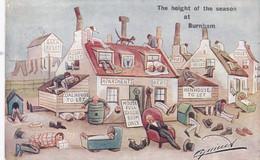 BURNHAM - THE HEIGHT OF THE SEASON. CYNICUS . HIGHBRIDGE SQUARED CIRCLEP.M. - Autres