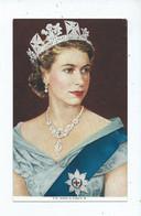 Royalty  Postcard  Queen Elizabeth 2  Unused - Familles Royales
