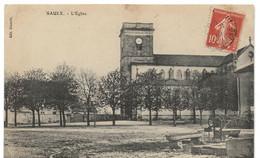 Saulx : L'église (Editeur Simonin) - Andere Gemeenten