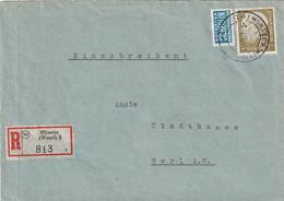 R - Brief Bund Münster Vom 7.11.1955 - Gebruikt
