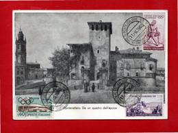 Parma - FONTANELLATO - Rocca San Vitale Da Un Quadro Dell'EPOCA.  FILATELICA - Parma
