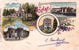 16 - Charente - Souvenir De COGNAC - Litho Multivues - 1902 - Cognac