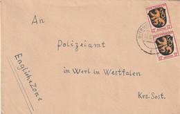 2 Beleg Alliierte Besatzung Bitburg Und Ochtrup - Amerikaanse, Britse-en Russische Zone