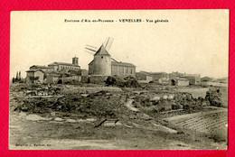 CPA (Ref : CC 072) Environs D'Aix-en-Provence VENELLES (13 BOUCHES DU RHÔNE) Vue Générale (moulin à Vent) - Altri Comuni