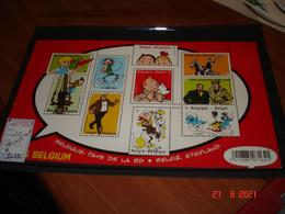 BELGIQUE  ANNEE 2012  NEUFS N° YVERT 4238 A 4247 SERIE COMPLETE 10 VALEURS   BELGIQUE PAYS DE LA BD - Collections (without Album)