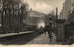 PARIS - 75 - Passy - Gare Du Ranelagh - Transport Urbain En Surface