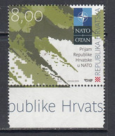 2009 Croatia NATO Military Alliance  Complete Set Of 1 MNH - Croatie