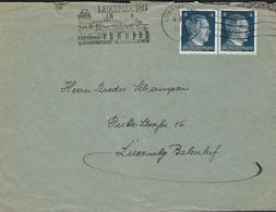 Luxembourg - Luxemburg - Lettre 1943  Occupation - 1940-1944 Deutsche Besatzung