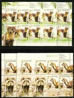 Europa CEPT 2021 BULGARIA Endangered National Wildlife - Fine 2 Sheets (x3 Pcs) MNH - Ungebraucht
