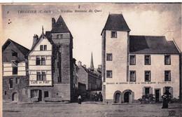 22 - Cotes D Armor - TREGUIER - Vieilles Maisons Du Quai - Café Du Port - Tréguier