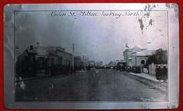 Cpa METAL : ALUMINIUM , Animée VILLAGE USA, DE . UNION ST. MILTON LOOKING NORTH , DELAWARE MOYES PHOTO RARE OLD PC - Other