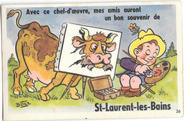 Saint Laurent Les Bains  , Carte A Système - Other Municipalities