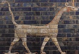 Exposition Babylone. Dragon De Marduk Du Dernier état. 2 CPM - Ancient World