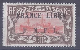 COLONIES  FRANÇAISES - St Pierre & Miquelon - N° 240** - Ongebruikt
