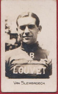 Small Chromo 1920's Gustaaf Van Slembroeck Slembrouck Oostende Wielrenner Coureur Cyclista Wielrennen Cycling Cyclisme - Cyclisme