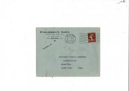 Enveloppe  Etablissements Guérin  Béziers  1924 - 1921-1960: Modern Period