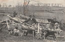 15 DRUGEAC ? FABRIQUANTS   DE SABOTS  (voir Cachet De Depart 1911) - Otros Municipios