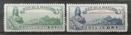 Saint Marin 1929 / Yvert Express N°7-8 / * - Francobolli Per Espresso