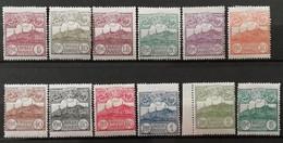 Saint Marin 1925 / Yvert N°106-117 / * - Nuovi