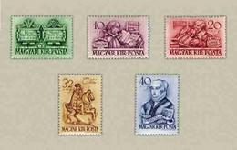 Hungary 1939. Protestant Nice Set, MNH (**) Michel: 616-620 - Nuovi