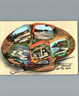 22 - Côtes D'Armor - Saint Jacut De La Mer - Cpm Multivues 5 Sur Une Palette De Peintre - Saint-Jacut-de-la-Mer