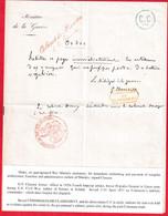 COMMUNE DE PARIS ORDRE SIGNE PAR LE GENERAL CLUSERET MINISTRE DE LA GUERRE DE LA COMMUNE DE PARIS DU 3 AU 30 AVRIL 1871 - Guerra Del 1870