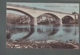 CP - 19 - Argentat - Vue Sur Le Faubourg - Argentat