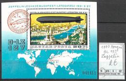 D - [860173]TB//**/Mnh-Hongrie 1977 - BL133,  Transports, Zeppelin - Zeppelin