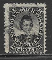 Canada New Brunswick Scott#11 Used Edward Vll, 1860, CV$65.00 - Ongebruikt