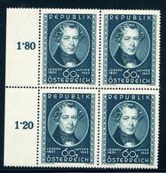 Mi. 964 VIERERBLOCK ** - 1945-60 Unused Stamps