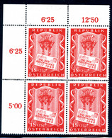 Mi. 1029 VIERERBLOCK ** - 1945-60 Unused Stamps