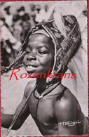 Native Girl Nu Ethnique Très Jeune Fille D'Afrique Noire Torse Etnique Petite Danseuse Acrobatique CPA Congo Belge - Congo Belga - Altri