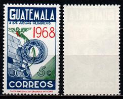 GUATEMALA - 1968 - 19th Olympic Games, Mexico City - MNH - Guatemala
