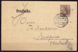 Münster Westf.Werbekarte Strewe & Hunger N.Bentfort 1912    (6451 - Sin Clasificación