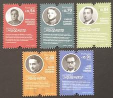 Portugal 2021 - Holocaust Memories Stamps Set MNH - Ongebruikt