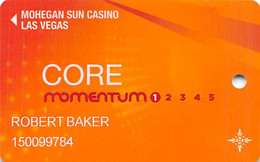 Mohegan Sun Las Vegas - Slot Card - Casino Cards